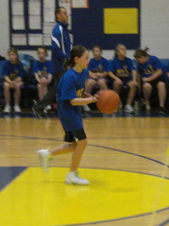 Point Guard for Mayfield Elementary Basketball Team