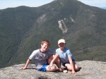 Anna's first Adirondack high peak with Drew - Mount Colden (14.8 miles)
