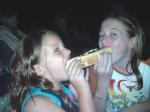 Giant Hot Dog at the ZBB Concert