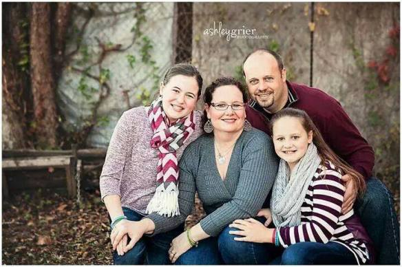 A million thanks to the beautiful, talented and generous Ashley Snowden Grier for another priceless family photo!  This one includes the heart of a special angel.